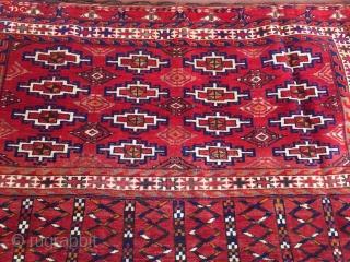 Turkmen-Tekke Chuval  Size : 122cm x 74cm