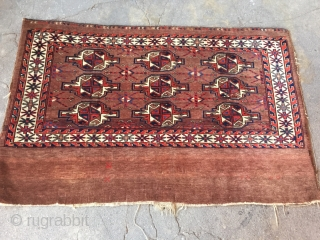 Turkmen-Yomud Antique Chuval a beatuifull and naturel colors.Late 19th century. Size : ''166cm x 77cm'' Thank you for visiting my rugrabbit store !