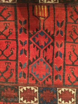 Nice Ersari Ensi: 170 cm x 140 cm approx.!  Design like 113 Hoffmeister/Tsareva!