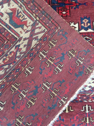 Great early 19 c Kepse Gul yomud carpet in good condition no repairs  Please enquire for more details