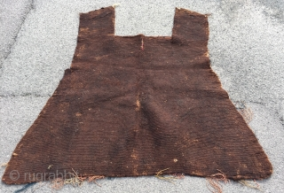 Nice flatwoven antique yomud flatwoven horse cover 