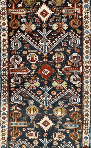Lockdown special antique kuba/ perepedil rug ca 1920/30 size 190 x 126 cm all wool good condition no repairs half price £925 inc shipping