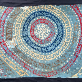 Genuine Kaitag embroidery from Daghestan 