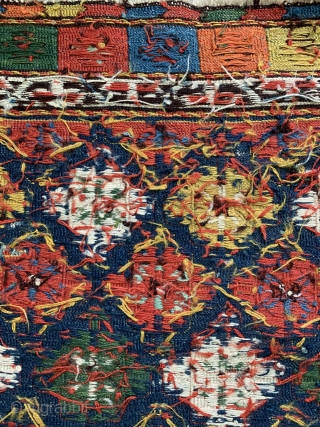Fine Antique Meghan shahsavan sumac bagface mid 19 c size 51 x 51 cm 