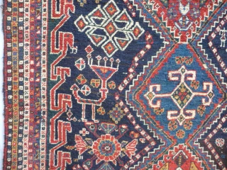 South West Persia.. Fabulous creatures, Excellent condition, 8ft x 4ft approx