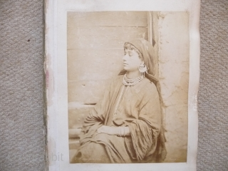 Ottoman era photographs, a fascinating group of nine large albumen prints of Cairo circa 1860, wonderful Orientalist compositions of street scenes and buildings from the studio of the important early photographer Henri  ...