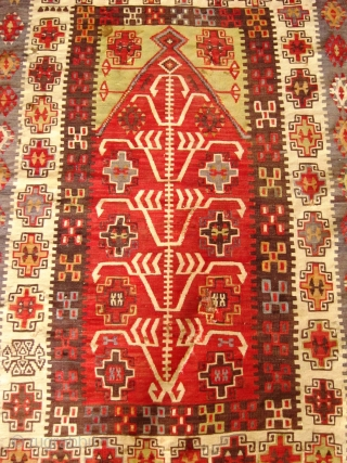 A late 19th Century Central Anatolian (Kayseri) Prayer Kilim.