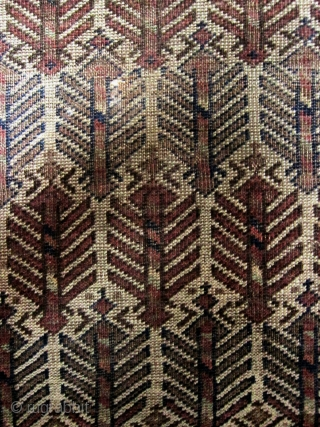 A 19th Century White Ground Baluch/Belouch Prayer Rug 