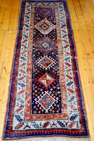 A 19th Century South Caucasian/Northwest Persian Long Rug