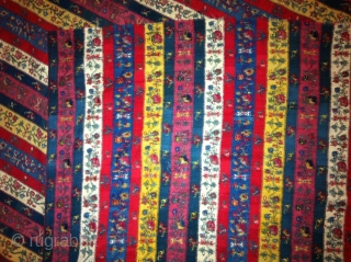 Antique indian kashmir 1850th, century long strip shawl..I have many more things to write about this shawl.but who knows about  these textile they don't want to know more.