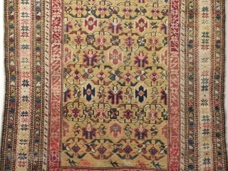 antique Caucasian  shirvan tchi tchi  size  177x110  wonderful colours and very good condition Circa 1900