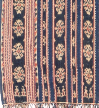 Ceremonial shoulder cloth, selendang, Savu/Indonesia, mid 20th century