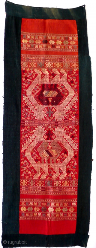 Wall hanging, silk & cotton, Tai people, Sipsongpanna, China, 20th century 