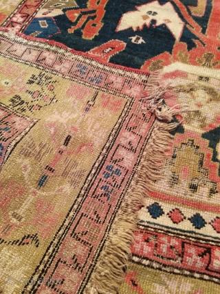 First quarter 20th century Karabagh rug, approx 170sx320cm.