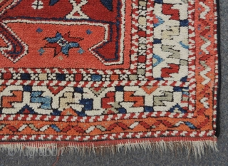 Kozak prayer rug. West Anatolia, Turkey, antique, the first half of the 19th century.