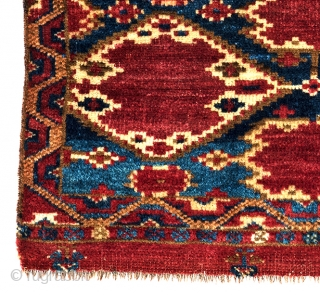 Lot 74, Ersari Torba, 2 ft. 8 in. x 1 ft. 5 in., Turkmenistan, mid 19th century, 