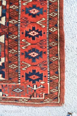 "Turkmen Asmalyk. 3'10"" x 2'2"""