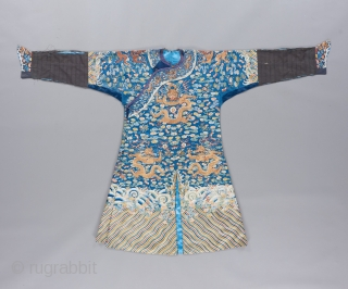 Qing Dynasty Imperial robe of exquisite quality. Please ask for details. 