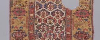 """Kurdish rug fragment. 4'1"""" x 2'10"""""""