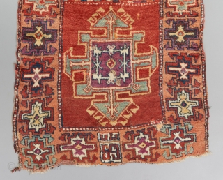 """Chunky east Anatolian rug. 5'8"""" x 3'3"""".   Please visit our website for more rare collectible woven art: www.bbolour.com"""