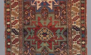 Leshgi Caucasian. All original. Great color. 5' x 3'  Please visit our website for more collectible and decorative woven art : www.bbolour.com