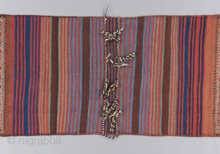 "Qashqai double bag. 9'2"" x 2'8""."