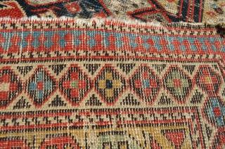 """Cool Caucasian rug.  4'9"""" x 3'9"""""""