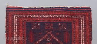 """Yagcibedir rug. Older than most. Fine, supple quality. 4' x 3'5"""""""
