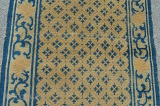 """Chinese rug. 5'8"""" x 3'"""