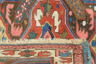 Nice small Kuba rug. If you are interested please ask for more images. measurements ca. 113cm x 95cm.