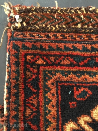 "Afshar Chanteh size: 18"" x 14"". Would make an attractive satchel with a nice leather strap sewn on."