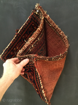 """Afshar Chanteh size: 18"""" x 14"""". Would make an attractive satchel with a nice leather strap sewn on."""