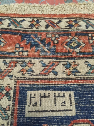 "Antique NW Persian runner dated 1332 (1914). Size: 3'3"" x 11'8"". Long fleecy wool pile, rich natural dyes plus a bit of fuchsine. Great condition. Floor ready. More photos and information on  ..."