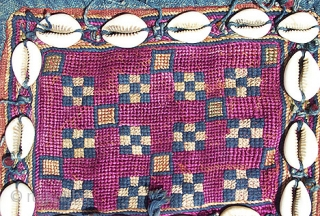 "Old Banjara Indian Textile known as a ""galla"" that is used to