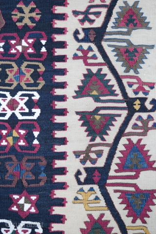 Good condition for this  Malatya kilim , end 19 century ...