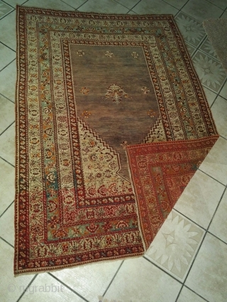ANTIQUE SIVAS ZARA rug // Year: 19th century // Size: 114 x 163 cm // from private collection // PM me for more info