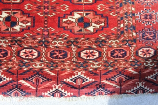 Tekke Herdteppich, wool on wool, very good condition