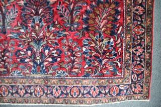 Sarogh Iran, Manchester wool, perfect condition, size: 1,47 x 1,05 m
