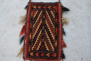 Yomud Spindeltasche, size 0,43 x 0,27 m, central asia ouest Turkestan, about ending 19 century very good condition