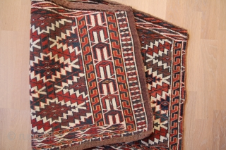 Antiques Turkoman Jomud Osmalik Wool on Wool good condition Sitze:97x63cm