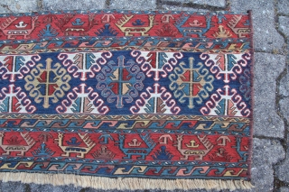 An antique Persian Mafrash Shahsavan Nordwest Persia Kamseh region