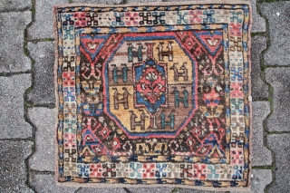 Kordi BAG FACE  Wool on Wool, signs of age and wear, SIZE: 57x53 cm