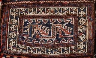 Luri- Bakhtiari small sumak bag, 47 x 37 cm.