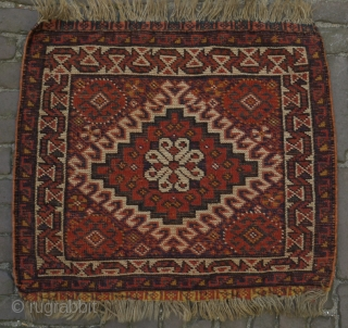 Luri bagface in perfect condition with natural colours. An attractive tribal piece. 