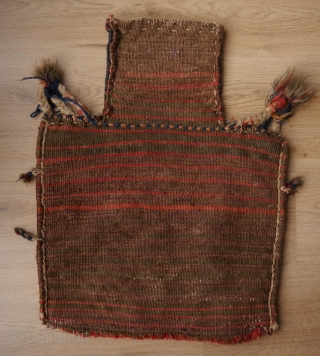 Attractive Bakhtiari salt bag, namakdan 43 x 57 cm
