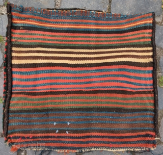 """Southwest Persian tribal bag, probably Luri or possibly Qashqai. Very soft  pile and saturated natural colors. 20""""x19"""""""