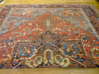 1880 ORIGINAL USED XXL LARGE SERAPI 1ST CLASS 10'8 x 14'8 