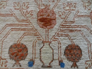 1850's RAREST WHITE POMMEGRADE YARKAND 4'2 x 9' 1  http://www.ebay.com/itm/european-estate-interior-ANTIQUE-1850-s-RARE-WHITE-POMMEGRADE-YARKAND-4-039-2-x-9-039-1-/152520619911?   1850's RAREST WHITE POMMEGRADE YARKAND 4'2 x 9' 1   Direct Contact Info: Bernard Zarnegin Interiors, Seestrasse 43, 8001 Zurich, Switzerland,  bz@magnet.ch  ...