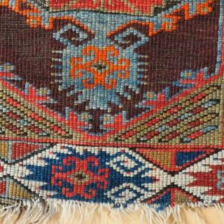 Anatolian yastik, slight condition problems, rare design
