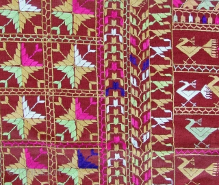 Phulkari from the Punjab